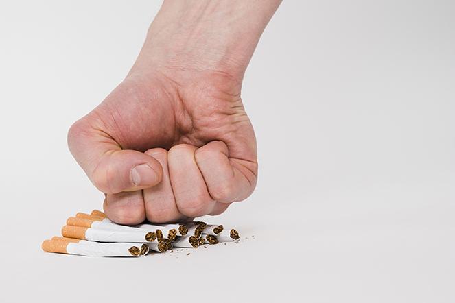 dejar el tabaco y dejar de fumar