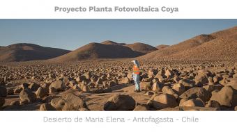 planta fotovoltaica Coya norte de Chile