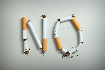 No,Smoking,Sign,Made,With,Broken,Cigarettes