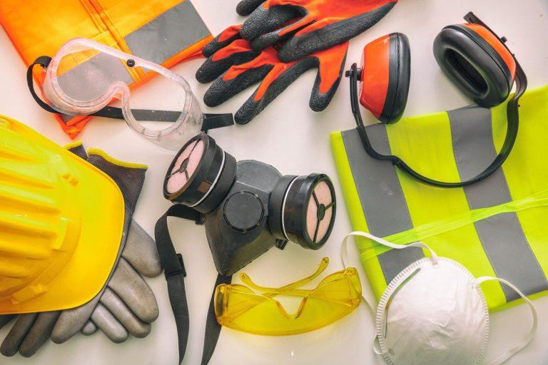 seguridad y salud, equipos protección